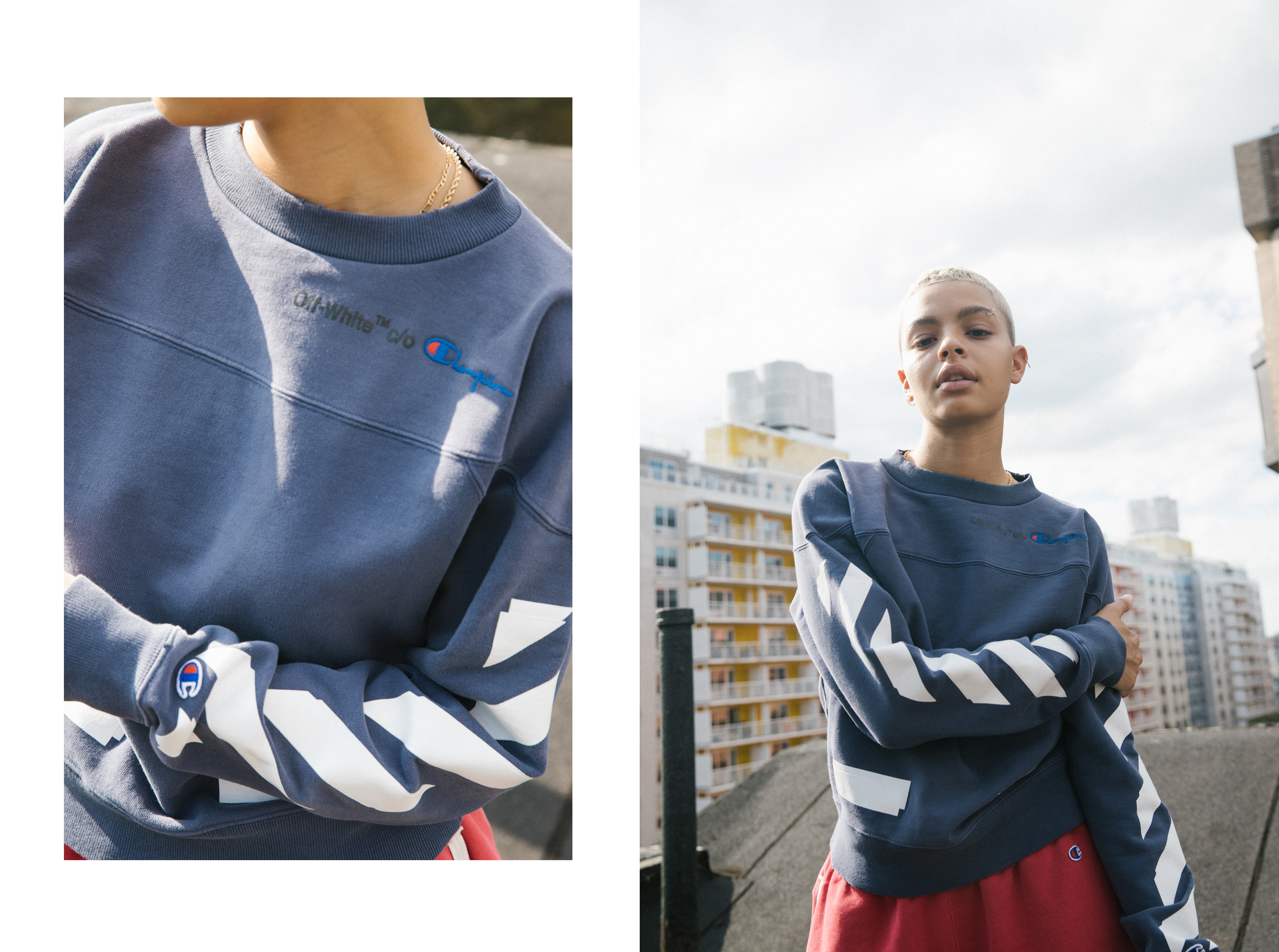 91590899 Off-White x Champion Europe Collaboration - The Upsetter